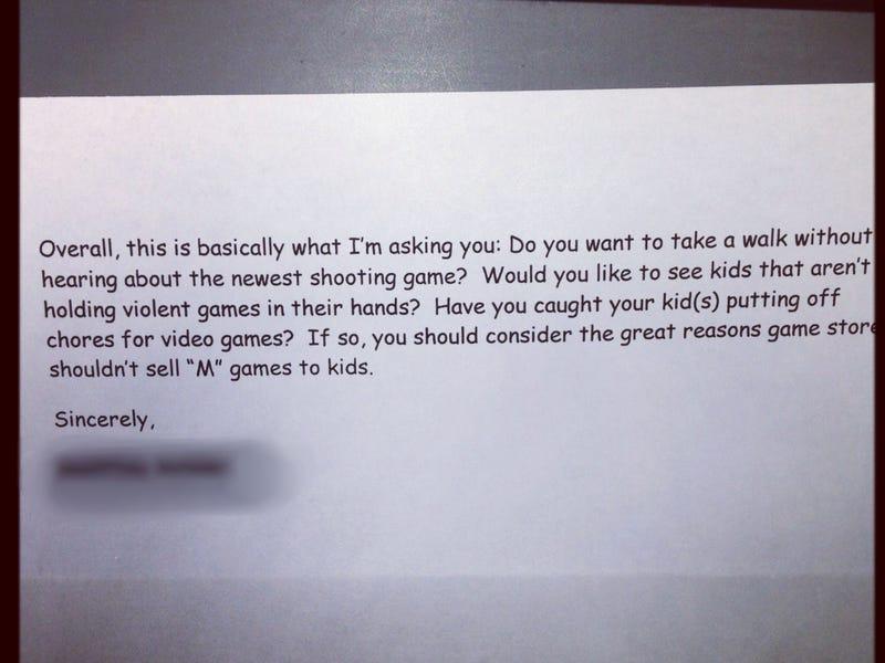 An Adorable Argument Against Underage Mature Game Sales