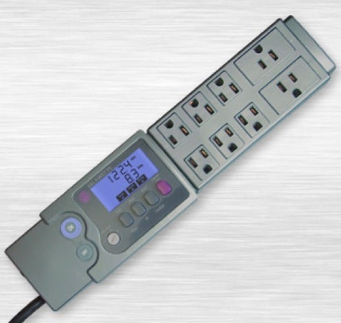 Cost Control Power Strip: See How Power-Thirsty Your Gadgets Are