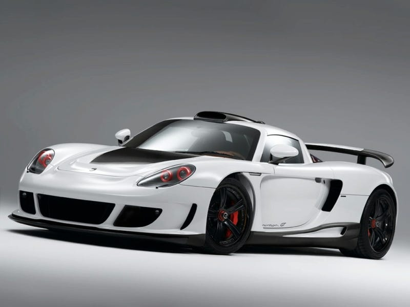 Gemballa Mirage GT Carbon Edition: Speed Through Lightness, Whiteness