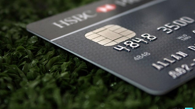 Place a Reminder of Your Long Term Financial Goals on Your Credit Card