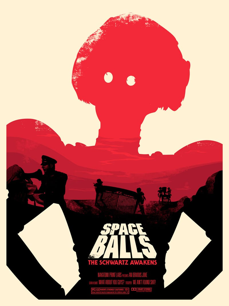 Of course these excellent new spaceballs posters spoof a for 3 by 3 prints
