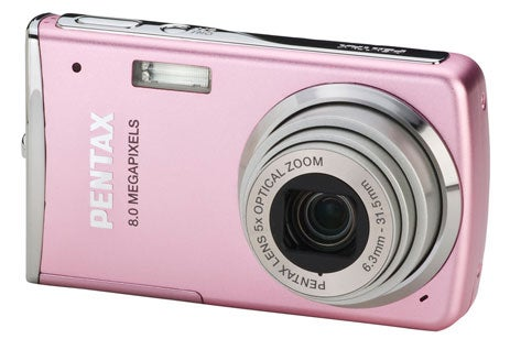 Pentax Optio M50 Comes in Pink, Silver and Blue But Mostly Vanilla