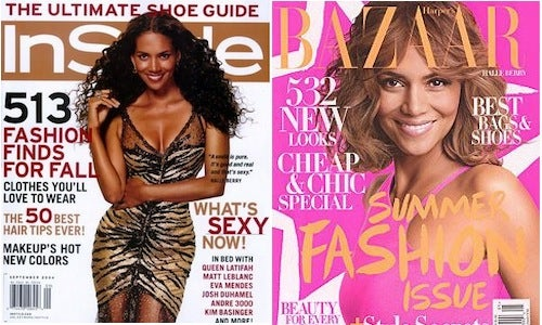 "The 15 Most Popular Ladymag Cover ""Models"""
