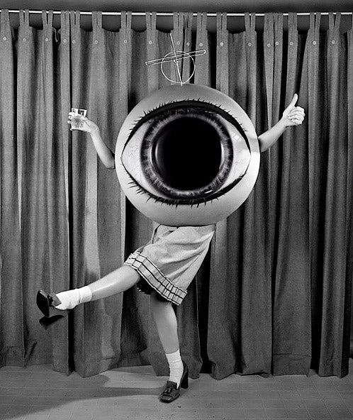 Concept Art Writing Prompt: The Girl Who Was a Giant Eyeball