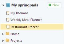 Springpad Helps You Get Things Done