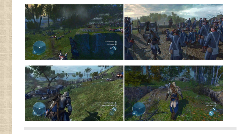 Another Four Assassin's Creed III Screens Tumble Out, Showing Gameplay