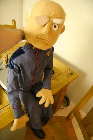 Paging Michel Gondry: Amazing Battlestar Galactica puppets for sale