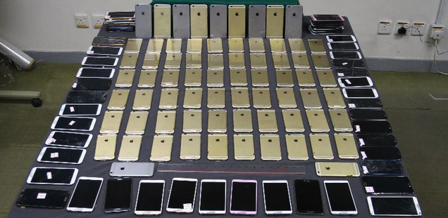 Chinese Officials Have Already Seized Hundreds of Contraband iPhone 6s