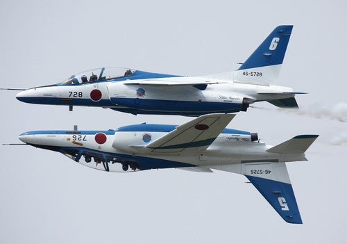 It's Mating Season for the Japanese Air Force Display Team