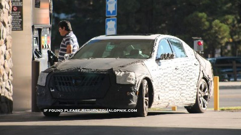 The 2014 Cadillac CTS Looks Massive