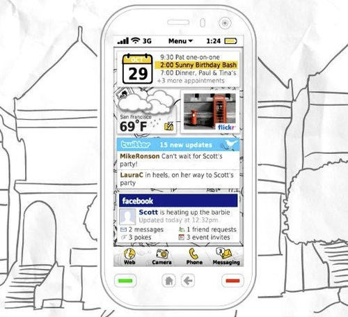 Video: Concept Symbian Interface Blends Augmented Reality Maps and Social Networking