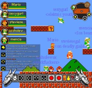 Mario Teaches Typing Warcraft