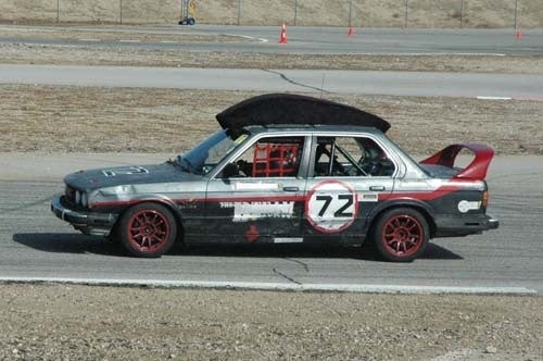 The Ghettocharged Eyesore Racing Miata Claims Another Trophy!