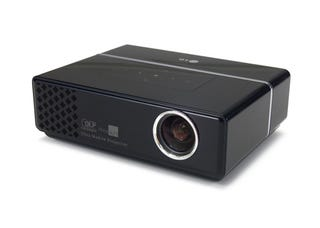 Palm sized projector from lg goes with anything rocks the for Palm projector