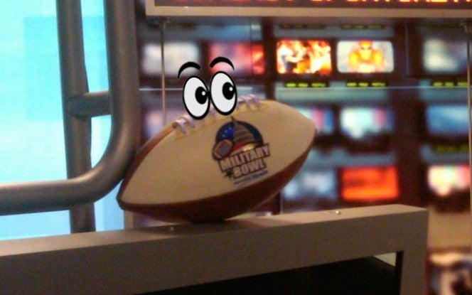 Meet Sgt. Stripes, One Very Unsettling Bowl Mascot