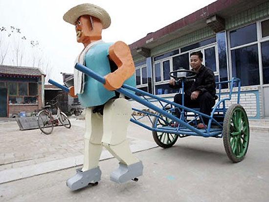 Robotic Rickshaws Wander the Streets of Beijing