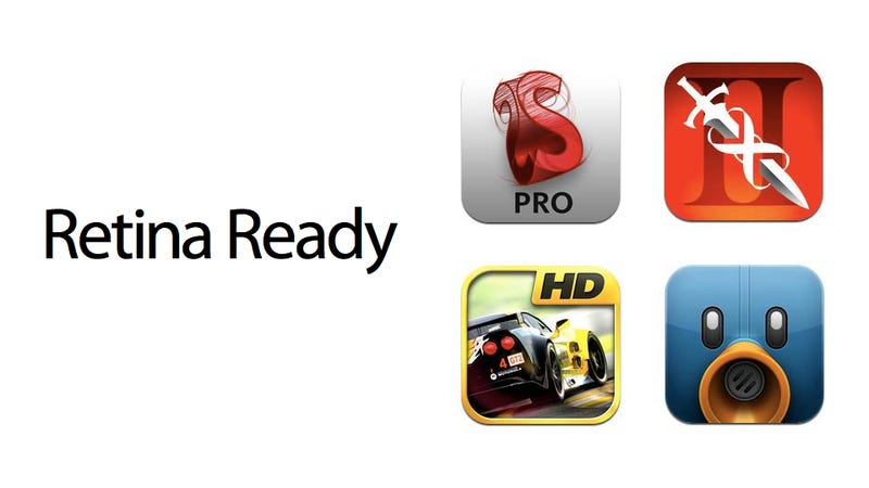 All the iPad Apps Updated for the New iPad's Retina Display