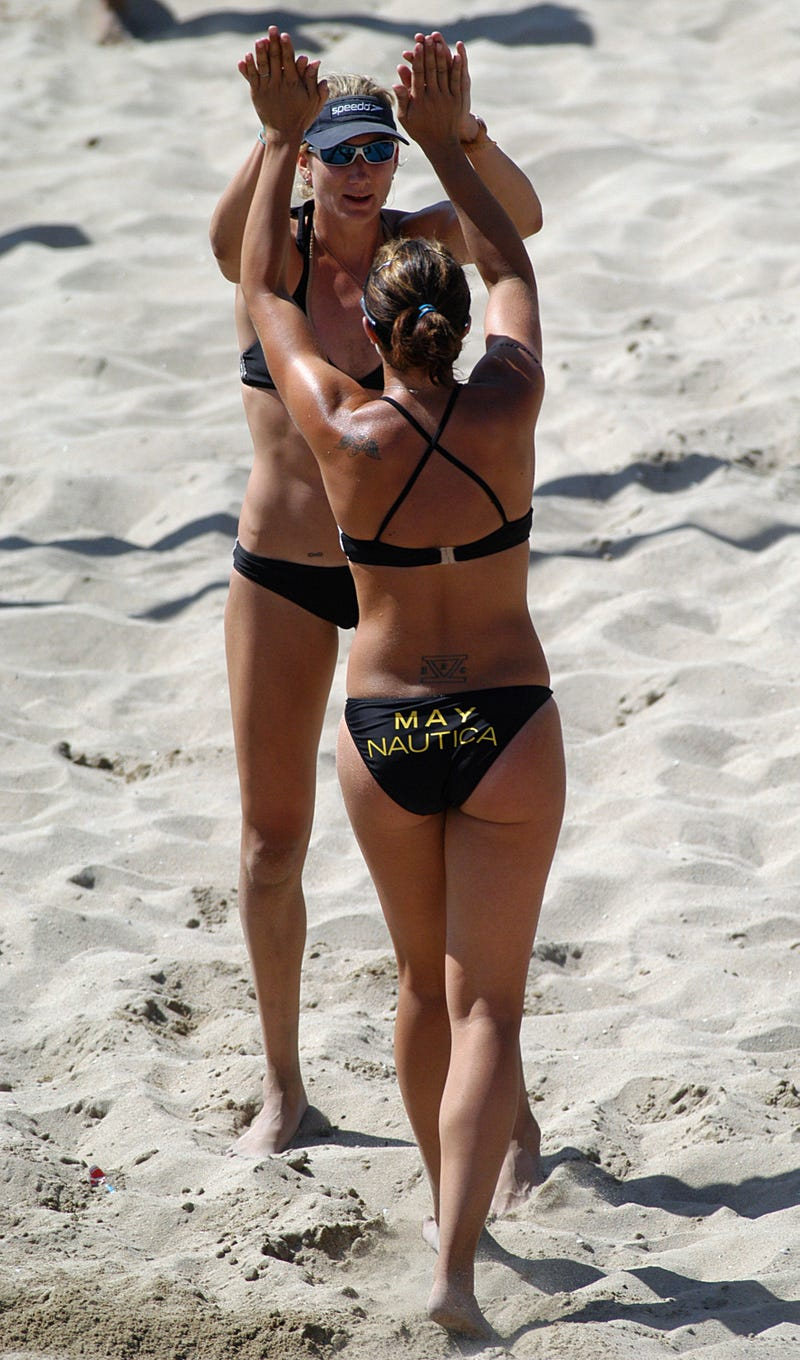 Olympics Field Guide: Kerri Walsh Jennings And Misty May-Treanor, Veteran Bikini Models (And The Best Beach Volleyball Team Ever By Far)