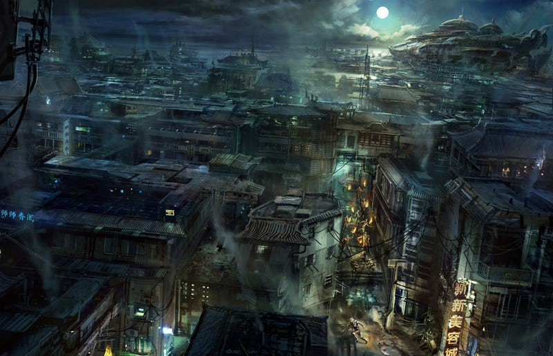 It's the End of the World as This Concept Art Knows it