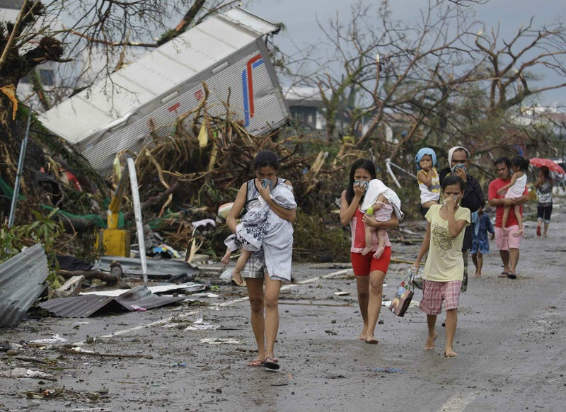 10,000 Feared Dead in Philippines