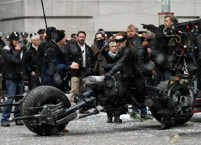 The Dark Knight Rises Set Pictures Part Three