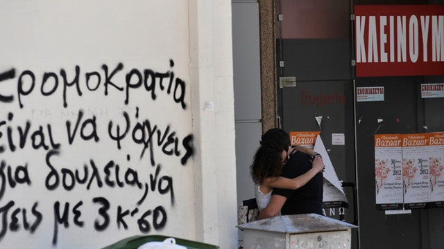 Economically Depressed Greece Plagued by Rash of Suicides
