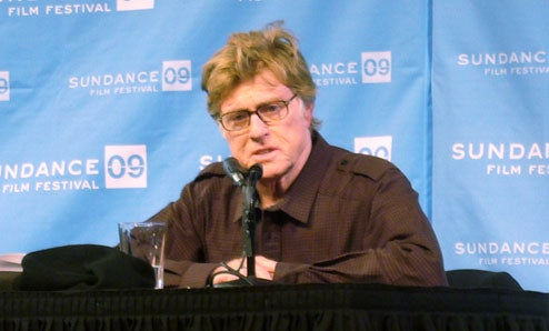 Robert Redford Opens Sundance '09: 'If You Have Questions, Don't Ask Them'