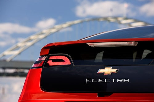 """The Chevy Volt Was Nearly Named The """"Electra"""""""