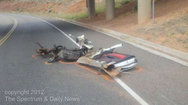 Ford Shelby GT500: Crash Photos
