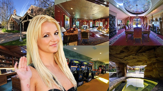 Britney Spears' Hideous New Hideaway