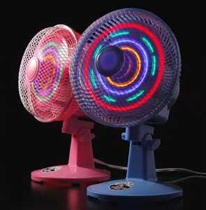 LED Fan: Tacky Blinkinlights