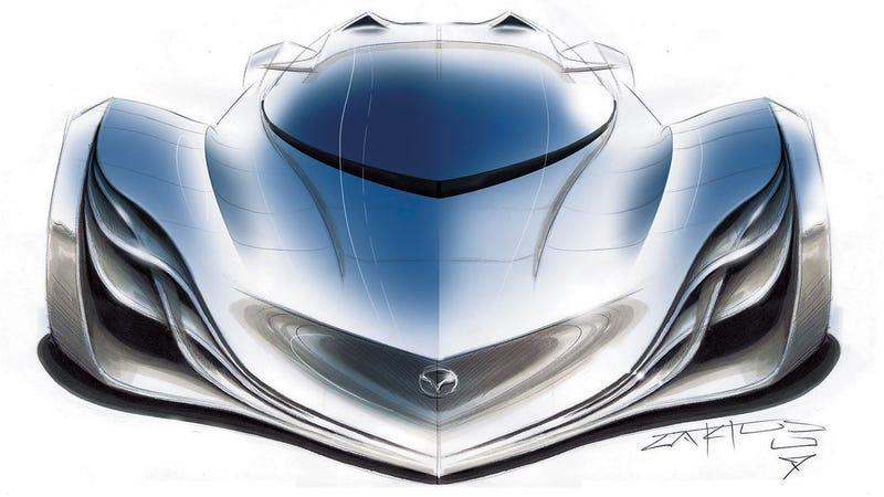 The Mazda Furai's tragic loss, as felt by one of its designers