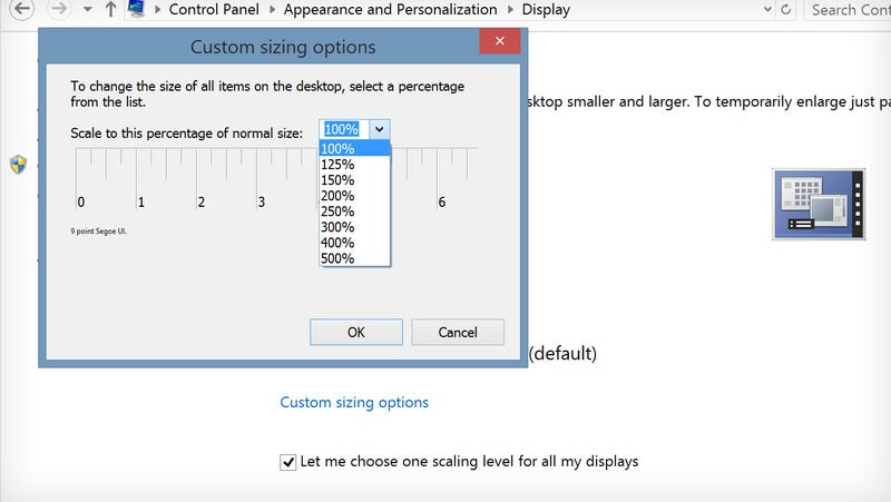 how to change display resolution to custom on laptop