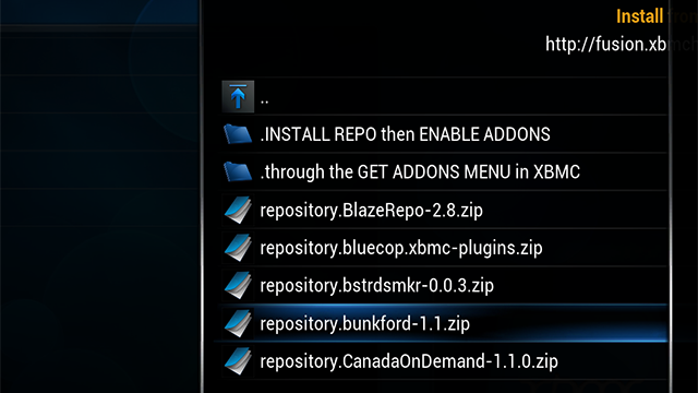 Fusion Installer for XBMC Simplifies Adding Third-Party Add-Ons