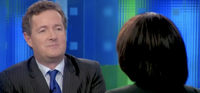 "Piers Morgan Asks Condi Rice If She ""Dreams Of A Fairytale Wedding"""