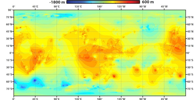 Feast your eyes on the first global topographical map of Titan