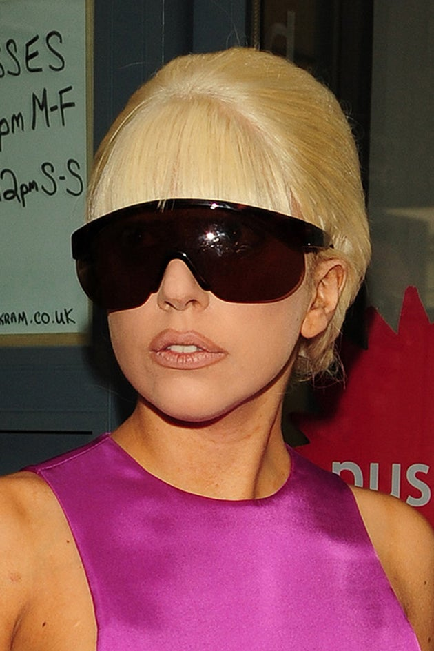 Lady Gaga Will Only Wear Silk Underwear Now