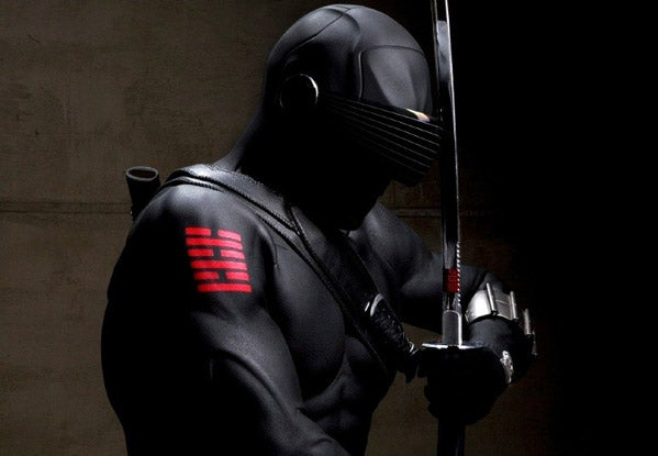 Snake Eyes Does Not Need Peripheral Vision To Slice You Up