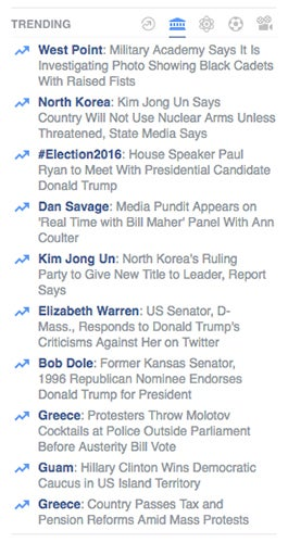 Ex empleados de Facebook: borrábamos las noticias conservadoras de manera sistemática