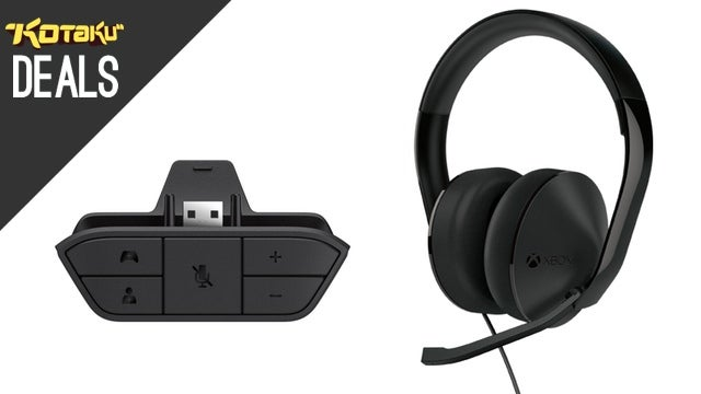 Pre-Order Xbox One's Stereo Headset and Headset Adapter Now
