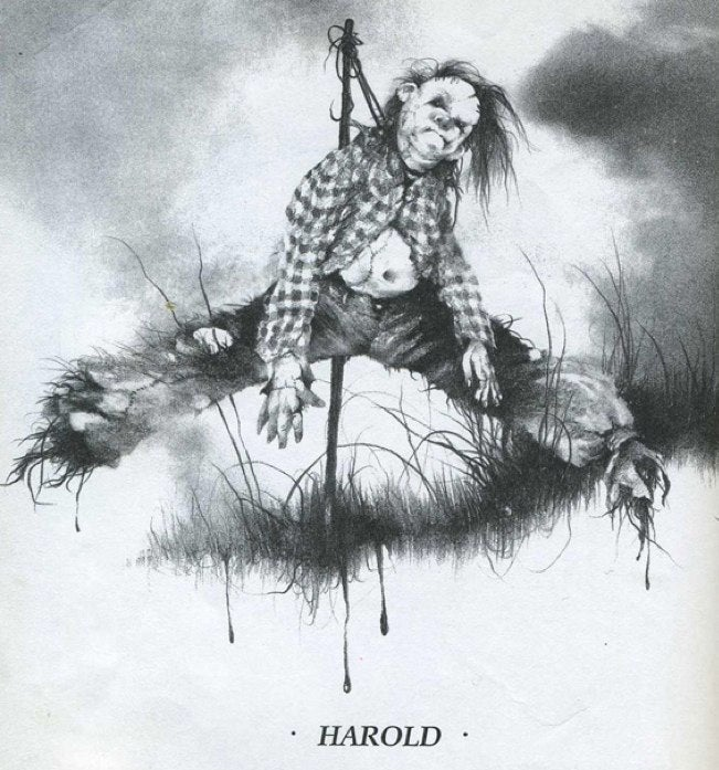 Scarecrow monster movie Husk wants to wear your flesh as a skin suit
