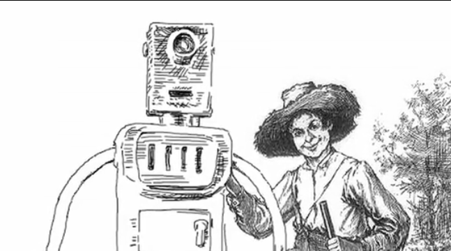 "A campaign to replace the N-word in Huckleberry Finn with the word ""robot"""