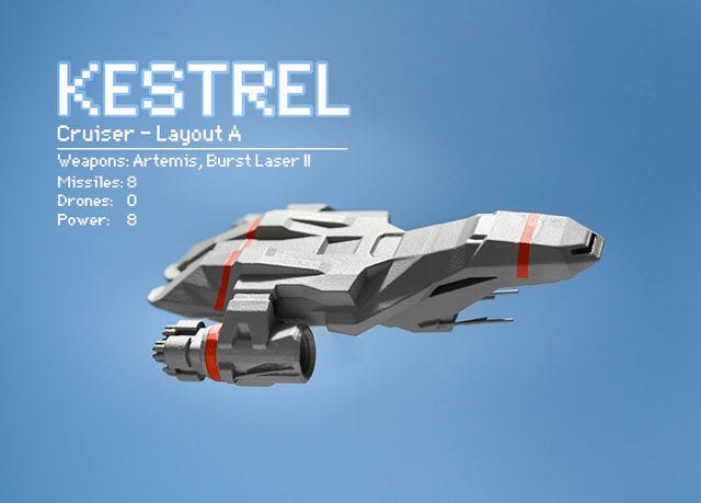 You Won't See The Pixels On This 3D-Printed FTL Spaceship