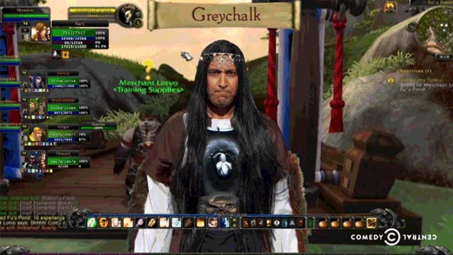 The Daily Show Is Really Worried About NSA Spying In World of Warcraft