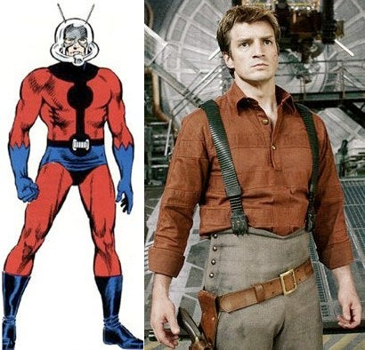 Nathan Fillion To Play Ant-Man? We're Not Getting Our Hopes Up