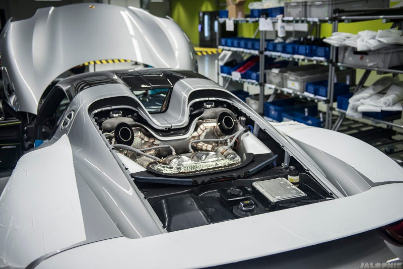 How Porsche Makes The World's Most Advanced Hybrid