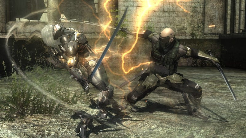 Internal Squabbles Made Metal Gear Rising: Revengeance Better