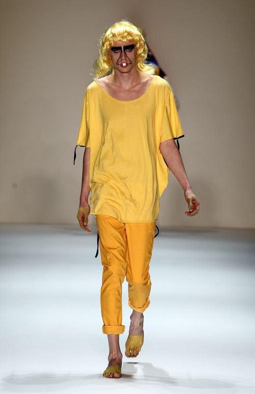 Berlin Fashion Week: Patrick Mohr's Appalling Apparel, Terrifying Models