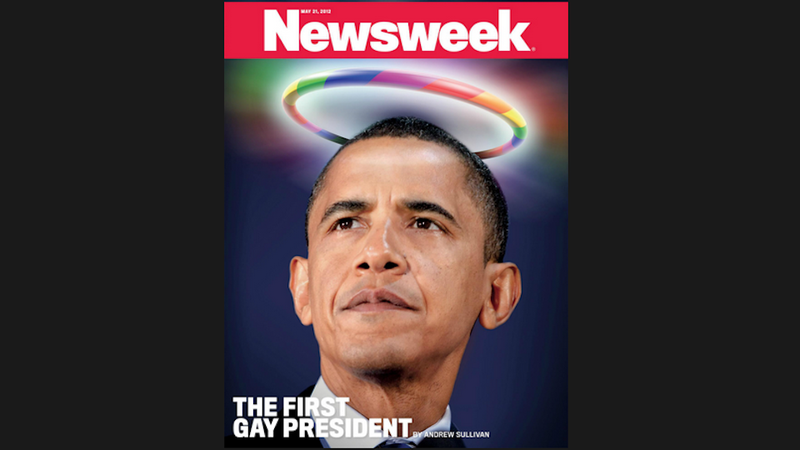 Newsweek Declares Barack Obama Gay