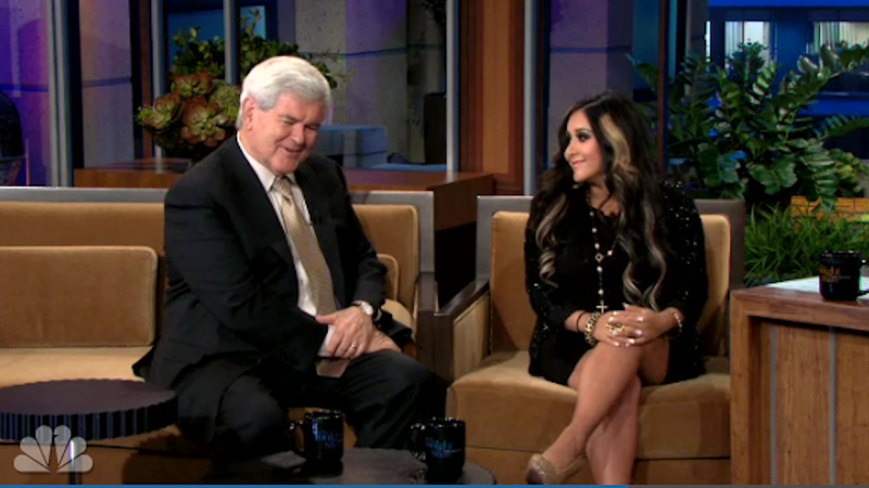 Snooki & Newt Gingrich Become BFFs as Apocalypse Draws Nigh
